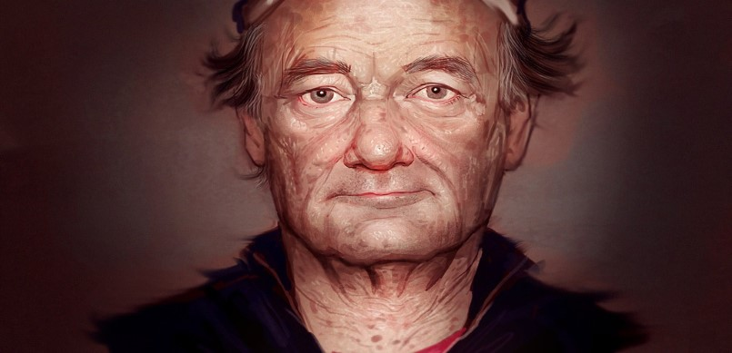 Drawing of Bill Murray