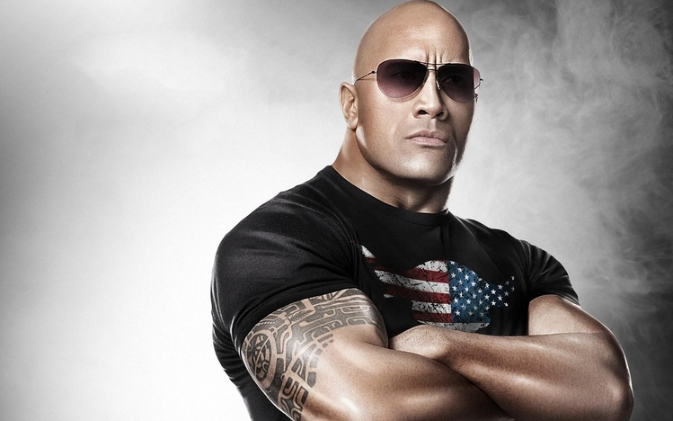 picture of the rock dwayne johnson