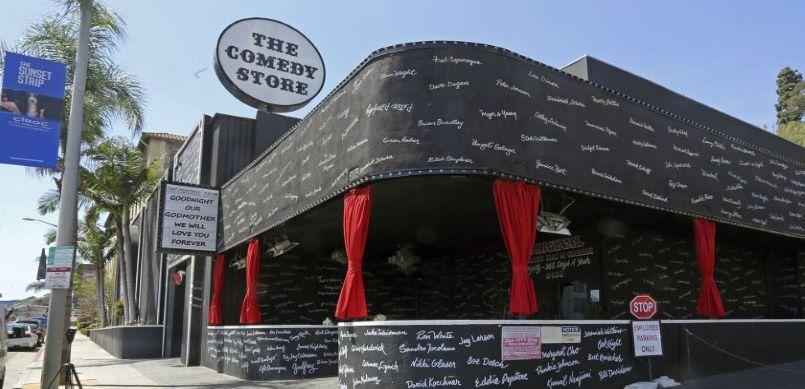 The comedy store LA