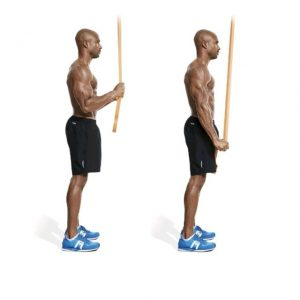 Band tricep push down