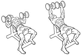 incline dumbbell benchpress